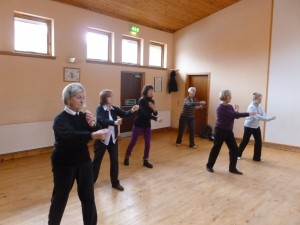 Taiji classes at the United Reformed Church, East Kilbride